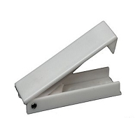 RV White Baggage Door Catches