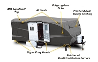 AquaShed® Travel Trailer Cover 15'1