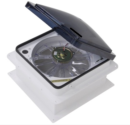 Fan Tastic Vent Roof Vent W 12v Fan And Remote 14 1 4