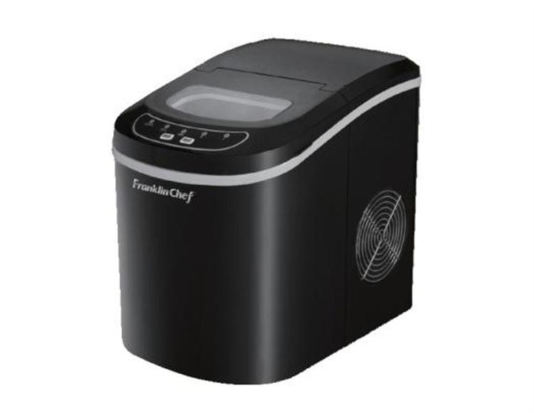 Franklin Chef Black Portable Icemaker