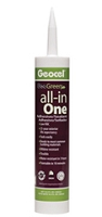 Adhesive and Sealant, Clear, 10 oz.