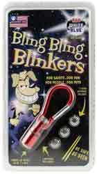 Bling Bling Blinkers- Red\White\Blue