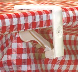 Tablecloth Clamps, Plastic, 4\pk