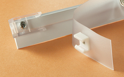 Wall Mount Rv Curtain Glide Tape