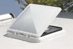 Rv Replacement Vent Lid White New Metal Jensen Vent