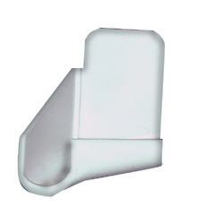 RV Gutter Spout, Colonial White