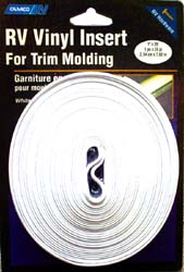 RV Insert Molding Trim 1 inch Black 1000 ft