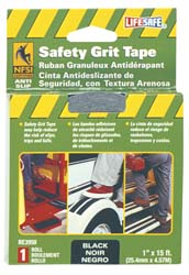 RV Anti-Slip Grit Tape 1 inchx15 ft