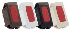 Indicator Lights for Switches Red\Brown 3\bag