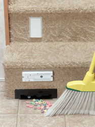 Vacpan Automatic Dustpan - Great For Central Vac Systems