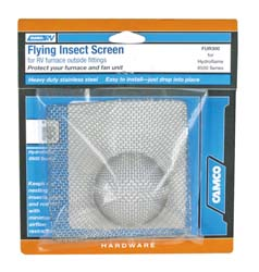Camper Furnace Screen Flying Insect Screen