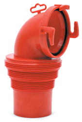 EZ Coupler® 90º Bayonet Sewer Fitting
