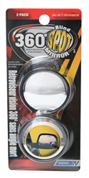 Camco Blind Spot Mirrors, 2/pk