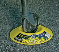 Trailer Tongue Wheel Chock
