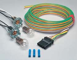 Blue Ox Bulb and Socket Tail Light Wiring Kit