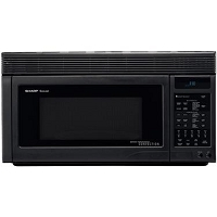 1.1 Cubic Feet Convection Microwave Black R1875T