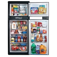 Rv Refrigerator Norcold Gas Absorption 2-Way 9.5 Cu Ft, No Ice Maker N1095