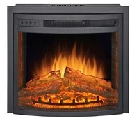 Curved Electric Fireplace, 26