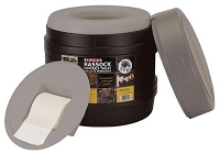 Reliance Products Hassock Portable Lightweight Toilet
