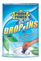 RV Waste Digester & Deodorizer, Enzyme, Pure Power Blue-Drop Ins, 12/Bag