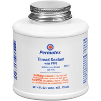 Thread Sealant With Teflon, 4oz