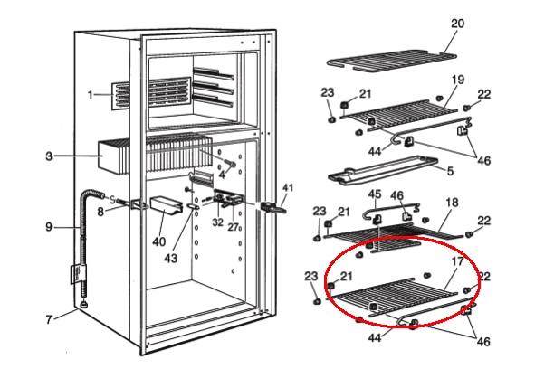 Dometic Rv Refrigerator Shelves