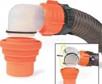 Rv Sewer Hose Swivel Elbow With 4 in 1 Adapter-RhinoFlex