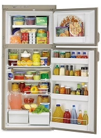 Dometic RM2620R RV Refrigerator Classic - 2 Way- 6 Cu. Ft -Double Door