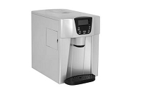 Contoure Silver 14.29 Inch Width x 15.31 Inch Height x 9.9 Inch Depth Ice Machine