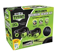 Titan 20 Foot Premium RV Sewer Hose Kit  Thetford 17902