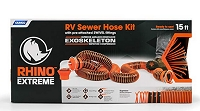 Camco RhinoEXTREME 15ft RV Sewer Hose Kit 39861