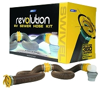 Camco 39625 20' Revolution Swivel Sewer Hose Kit