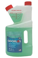 Camper Holding Tank Treatment, Odorlos, 40oz. Measuring Bottle