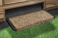 Entry Step Rug, Wraparound (R) Plus, Wrap Around Hook And Spring, 20 Inch Width, Harvest Gold