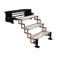 Torklift GlowStep Revolution, 3 Manual Folding Steps: 22-1/4 Inch Length x 8 Inch Width and 7-1/2 Inch Rise