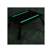 Grip Tape, 2 Strips, Custom Cut, Fits Large And Adjustable Folding Safety Steps, Illuminated