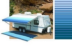 Carefree Rv Awning Replacement Fabric 14ft Ocean Blue