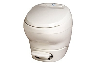 Thetford Aqua-Magic Bravura High Profile Without Water Saver RV Toilet Parchment