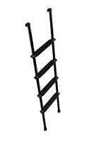 Stromberg Carlson Black 5 Foot 4 Steps Ladder