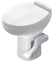 Thetford Aqua Magic Residence High Profile Pedal Flush RV Toilet White