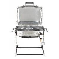Fleming Sales Black 16-1/2 Inch Width x 13 Inch Diameter x 9 Inch Height Barbeque Grill