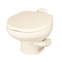 Thetford Aqua-Magic Style II Low Profile Without Water Saver RV Toilet Bone