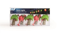 Party Lights Flamingos and Palm Trees