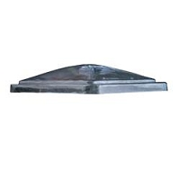 Roof Vent Lid; Fan-Tastic Vent; For 14 Inch x 14 Inch Vents; Clear; Polycarbonate; Vent Lid Only