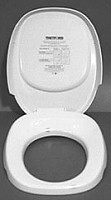 Thetford Toilet Seat; Elongated Seat; Closed Front