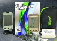 Tire Minder Tire Pressure Monitor System -TPMS Kit w/4 Transmitters & Booster