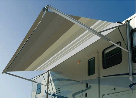 Dometic A&E WeatherPro 21ft Power Awning Vinyl Fabric with Metal Weathershield