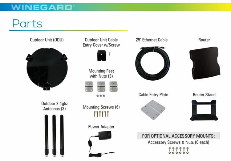 Winegard ConnecT RV Internet Wifi Extender Black