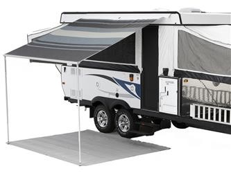 "Campout Bag Awning-Sierra Brown 8' 5"" x 6' 6"""