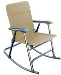 Elite Folding Rocking Chair, Tan
